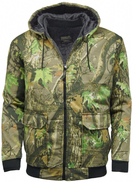 Mens Camouflage Stormkloth Bomber Jacket Hunting|Shooting|Outdoor Camo Jacket